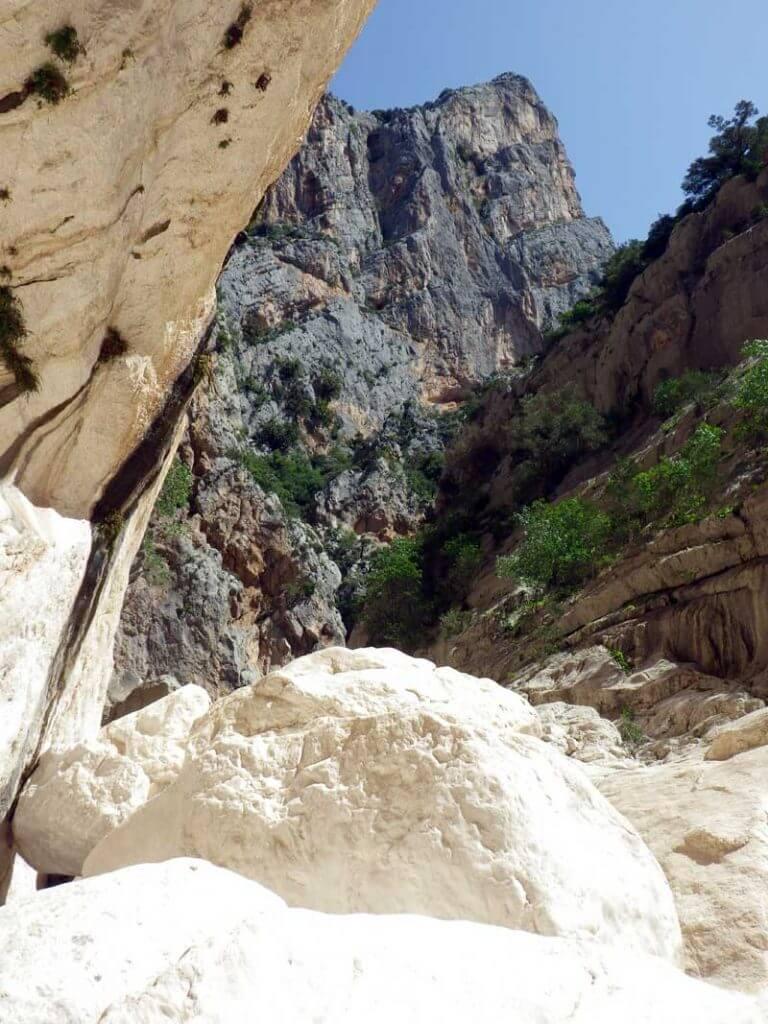 reisverslag Sardinie mei Gorropu kloof
