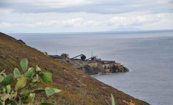 mijnbouwrestanten - reisverslag elba