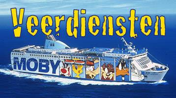 Veerdiensten op naar Corsica, Sardinië, Sicilië en Elba